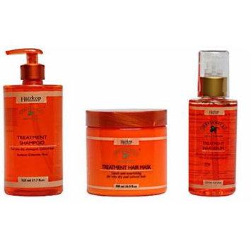 Obliphica Set - Mask+Serum+Shampoo Treatment For Dry Coloured Hair