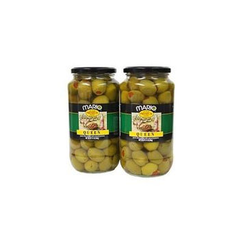 Mario® Stuffed Queen Olives - 2/21 oz jars
