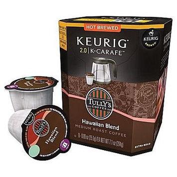 Keurig® 2.0 K-carafeTM Pack Tully's® Hawaiian Blend Coffee, 8/pack
