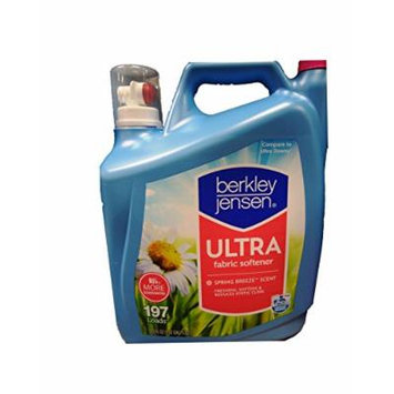 Berkley & Jensen HE Ultra 197 Loads Fabric Softener, Spring Breeze Scent, 170 FL OZ
