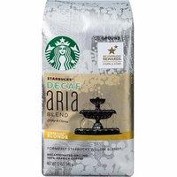 Starbucks Decaf Blonde Aria Blend Ground Coffee, 12 oz