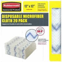 Rubbermaid Disposable Microfiber Cloth 12