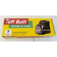 Tuff Built Trash & Yard Bags 33 Gallon.. 2FT.8 1/2 in x 3 FT 2 in x 0.45 MIL.. 7 Bags.