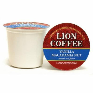 Lion Coffee Vanilla Macadamia Nut for Keurig K-cup Machines (12 Cups/box)