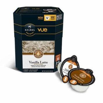 Barista Prima Vanilla Latte Vue Pack 8+8, 4 Pack (Makes 32 Lattes), 64 Count