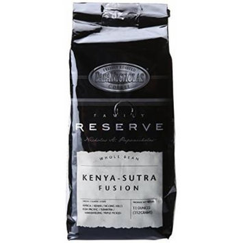 PapaNicholas Coffee Whole Bean Coffee, Family Reserve Kenya-Sutra Fusion, 11 Ounce
