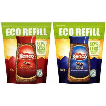 Kenco Coffee Pack. Really Rich x 2 (150g each) & Really Smooth x 2 (150g each) 600g in total