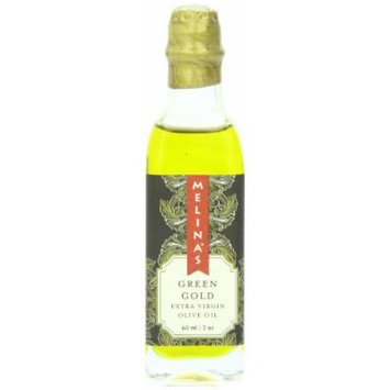 Melina's Extra Virgin Olive Oil, Green Gold, 2 Ounce