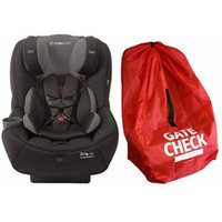 Maxi-Cosi Pria 70 Convertible Car Seat with Easy Clean Fabric and Gate Check Bag, Black Gravel