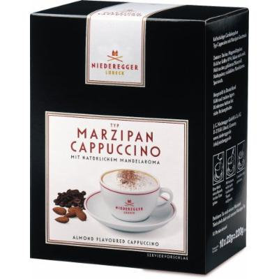 Niederegger Marzipan Cappuccino, 10-Count Servings (Pack of 2)