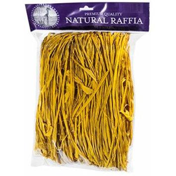 SuperMoss (30105) Raffia, Yellow, 8oz