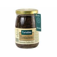 Tentazioni Tartufata Mushrooms Truffles Olives 17.6 oz jar