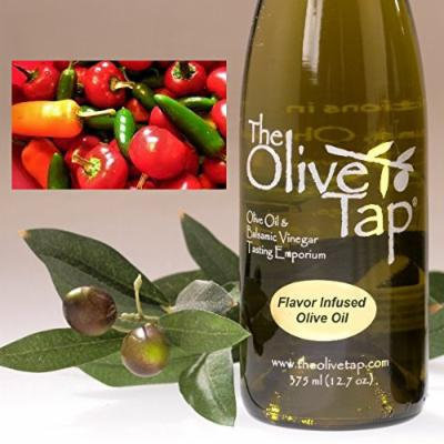 Trader Joe's Carefully Curated Flavored Olive Oil Collection Gift Set: Hot Pepper EVOO; Lemon EVOO; Basil EVOO