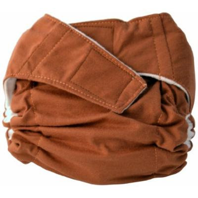 Cuteybaby All in One Modern Cloth Diaper, Solid Chocolate, Infant