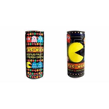Pac Man Bonus Fruit and Power up Energy Drink Set