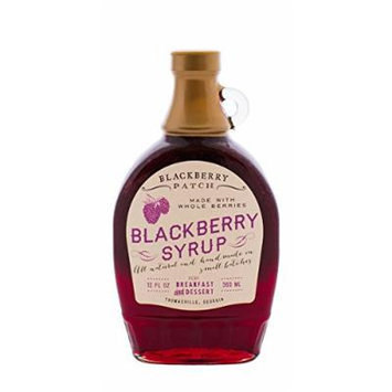 Whole Blackberry Syrup, 12 oz (SUGAR)