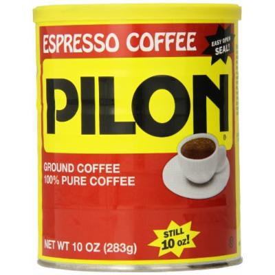 Cafe Pilon Espresso Coffee Can, 10 Ounce