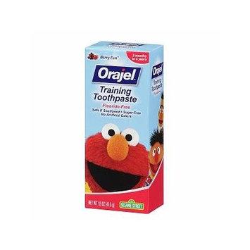 Orajel Toddler - Sesame Street Training Toothpaste, Berry Fun - 1.5 oz