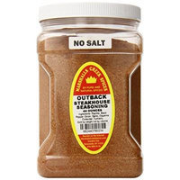 Marshalls Creek Spices Family Size Outback Steakhouse No Salt Seasoning, 44 Ounce