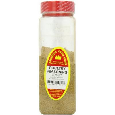 Marshalls Creek Spices Poultry Seasoning, No Salt Season, 12 Ounce