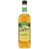 DaVinci Gourmet Naturals Syrup, Madagascar Vanilla, 23.7 ounce
