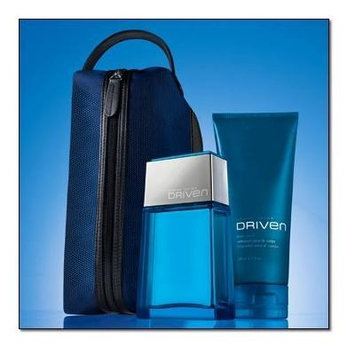 Derek Jeter Driven 3-piece Set,? Eau De Toilette Spray 2.5 Fl. Oz. ? Body Wash 6.7 Fl. Oz. ? Men's Travel Dopp...