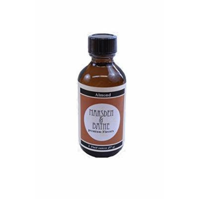 The Prepared Pantry Marsden and Bathe Flavored Extract, Almond, 2 Fluid Ounce