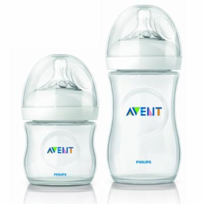 Philips Avent Natural 4 Ounce & 9 Ounce Bottle, Twin Pack