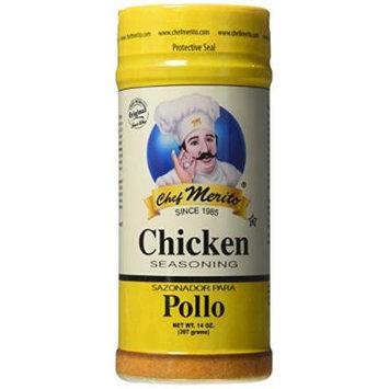 Chef Merito Chicken Seasoning, 14 Ounce