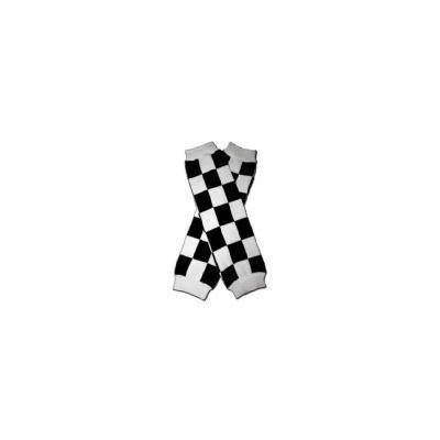 RACE CAR CHECKER FLAG - Baby Leggings/Leggies/Leg Warmers - Little Girls & Boys & ONE SIZE by