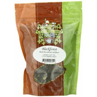 English Tea Store Loose Leaf, Blackforest Naturally Flavored Black Tea Pouches, 4 Ounce