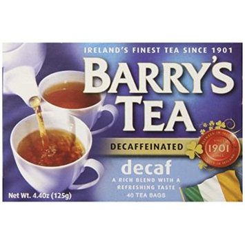 Barry's Tea Bags, Decaffeinated, 40 Count