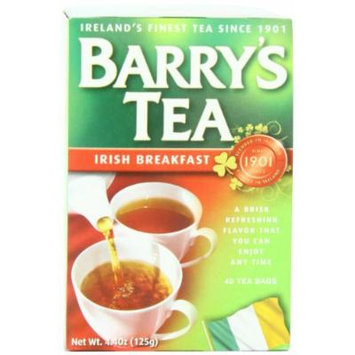 Barry's Tea Bags, Irish Breakfast, 40 Count