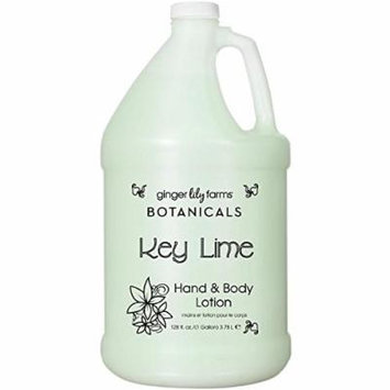 Ginger Lily Farm's Botanicals Hand & Body Lotion Key Lime Gallon