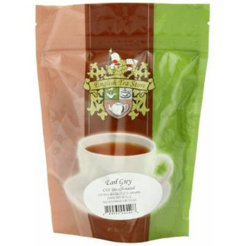 English Tea Store Earl Grey Teabags CO2 Decaffeinated, 25 Count