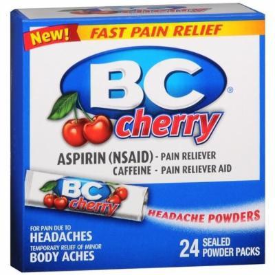 BC Headache Powders, Cherry 24 ea Pack of 2