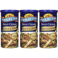 Progresso Bread Crumbs - Garlic & Herb - 15 oz - 3 ct