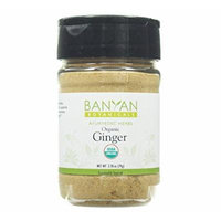 Banyan Botanicals Ginger Powder - Certified Organic, Spice Jar - Zingiber officinale - Supports overall health, wellness and comfort