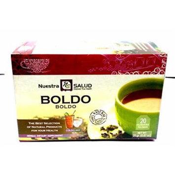 Boldo Filtered Herbal Tea - 3 Pack