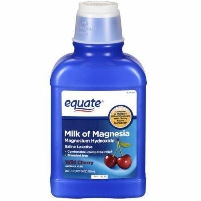 Equate - Milk of Magnesia, Wild Cherry, 26 fl oz