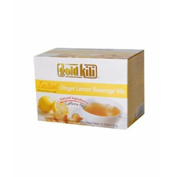 Gold Kili All Natural Instant Ginger & Lemon Beverage Mix, 6.72-Ounce Boxes (Pack of 6)