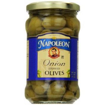 Napoleon Stuffed Olives, Onion, 6.5 Ounce