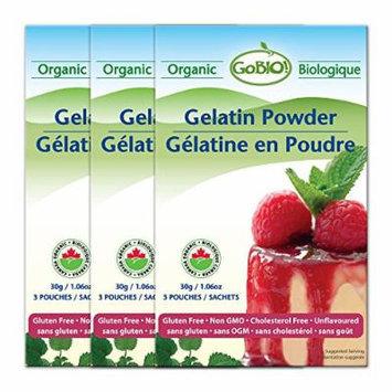 GoBIO! Organic Gelatin Powder 3x1.06oz