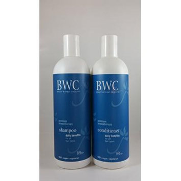 Beauty Without Cruelty Daily Benefits, Shampoo & Condtioner, 16oz Bundle