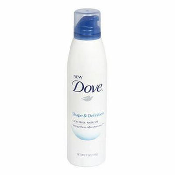 Dove Shape & Define Control Mousse 7 Ounces
