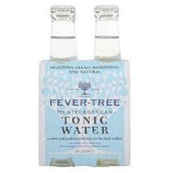 FEVER TREE SODA 4PK TONIC WTR MEDTNN, 6.8 FO