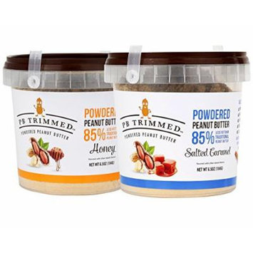 Powdered Peanut Butter Bundle: 1 HONEY (6.5 Oz) And 1 SALTED CARAMEL (6.5 Oz)