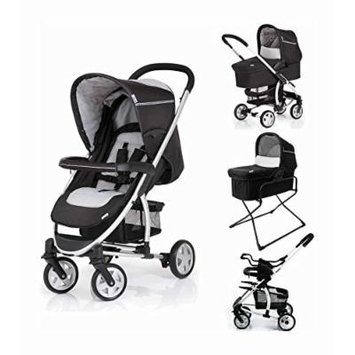 Hauck Malibu All in One Set Black - Stroller and Bassinet