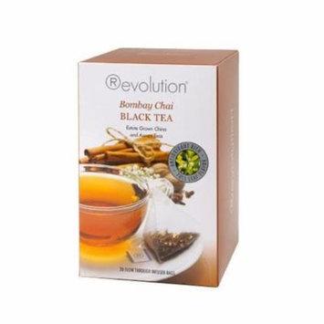 Revolution Tea Bags, Bombay Chai, 20 Count