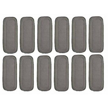 Baby 5-layer Charcoal Bamboo Inserts Reusable Liners for Cloth Diapers 10pcs